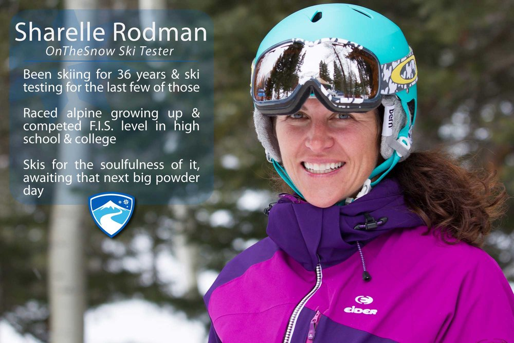 "Sharelle Rodman, 43. What's the worst thing that's ever happened to you while skiing? ""Blew out my ACL ski testing on a GREEN run!"" - © Cody Downard Photography"