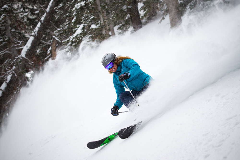 Ski Test day 2 was a powder playground. - © Cody Downard Photography