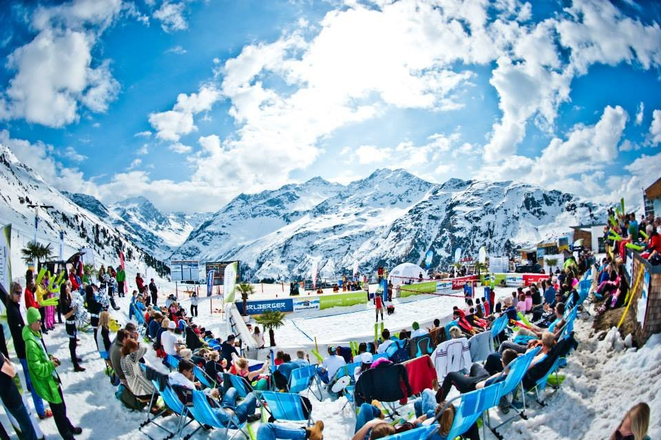 Snow Volleyball World Tour 2014 - St. Anton - © Snow Volleyball World Tour FB
