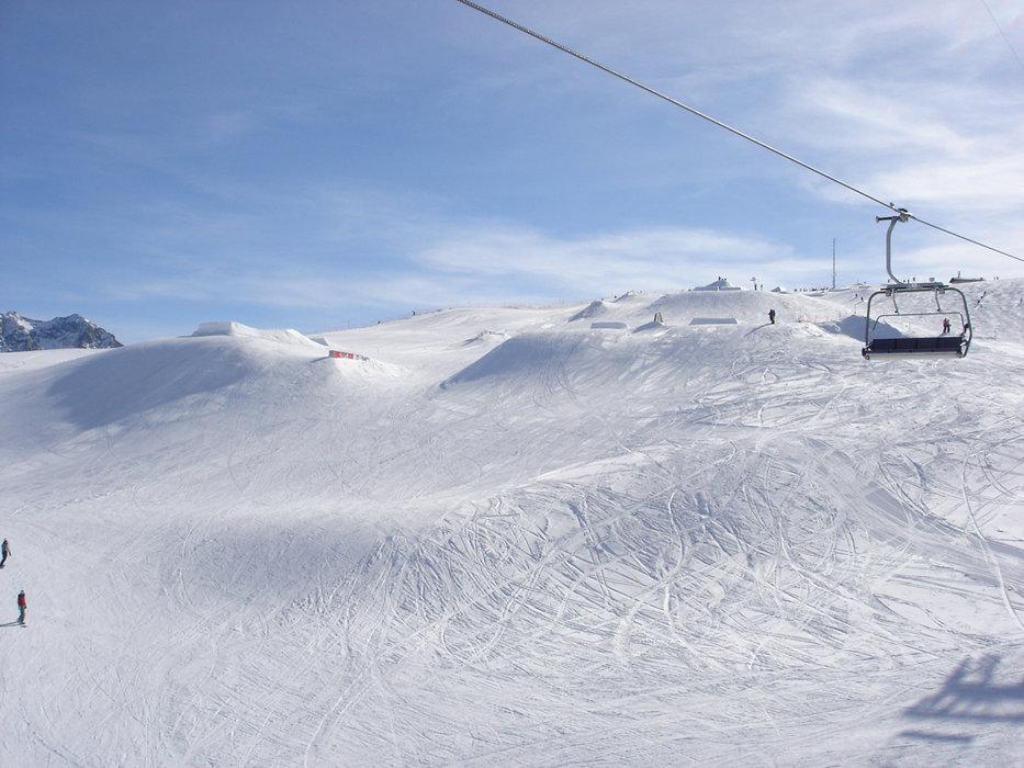 St. Moritz im Februar 2014