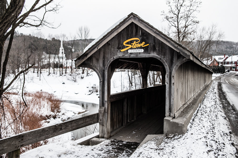 Stowe is absolutely the perfect little New England town you envision. - © Liam Doran