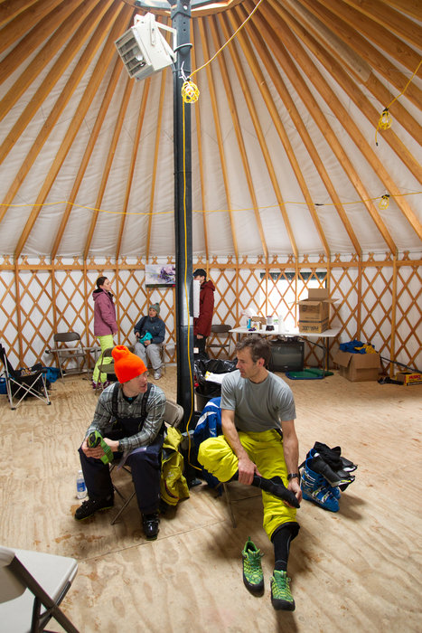 Having a yurt never hurts.  - © Cody Downard Photography