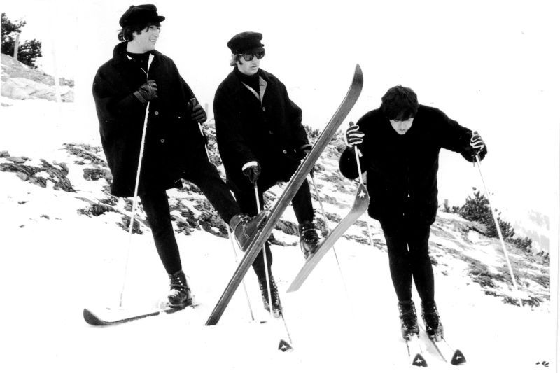 The Beatles on skis in Obertauern