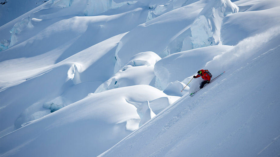 Big Mountain Skiing at its best in Alaska - © Warren Miller Film Tour