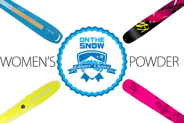 2015 Editors' Choice Women's Powder Skis.