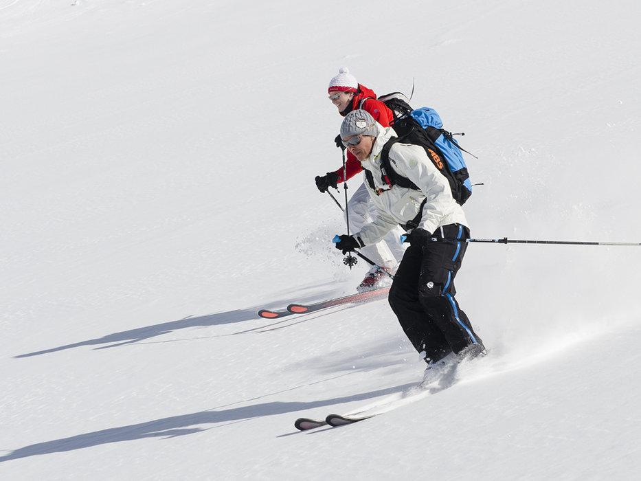 Nice snow rates - © Skigebiet Silvretta-Bielerhöhle