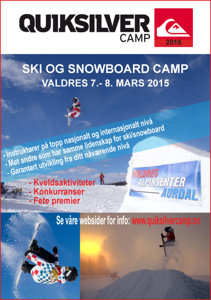 - © http://quiksilvercamp.no/camp/valdres.aspx