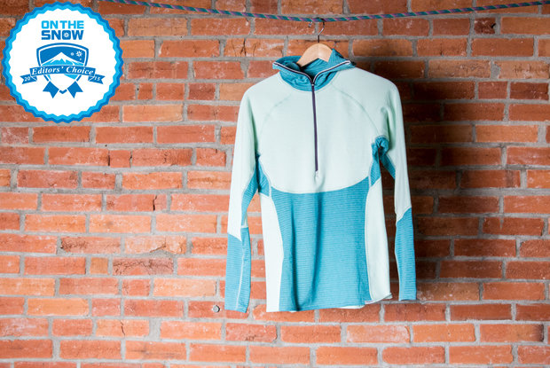 2015 women's base layers Editors' Choice: Patagonia Women's Capilene 4 Pro Zip-Neck - ©  Liam Doran