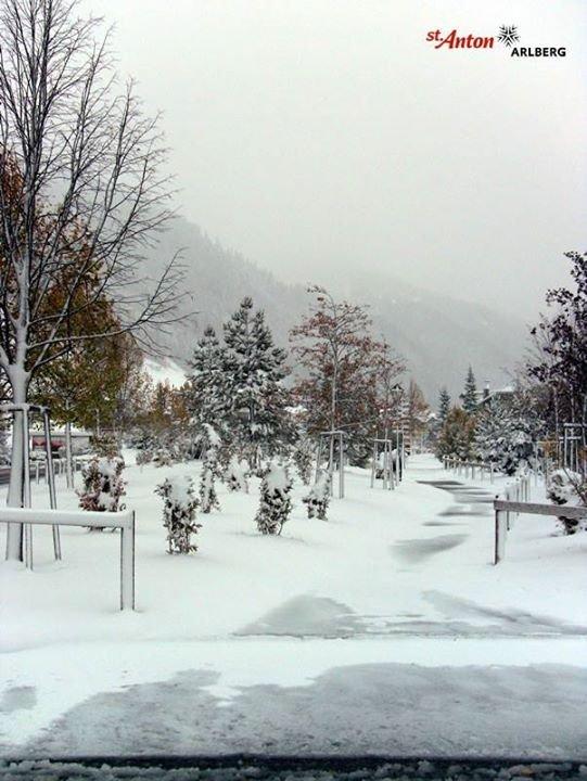 Neve fresca a St. Anton, 22 Ottobre 2014 - © St. Anton am Arlberg
