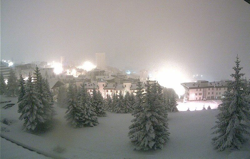 Sestriere am 5. November 2014