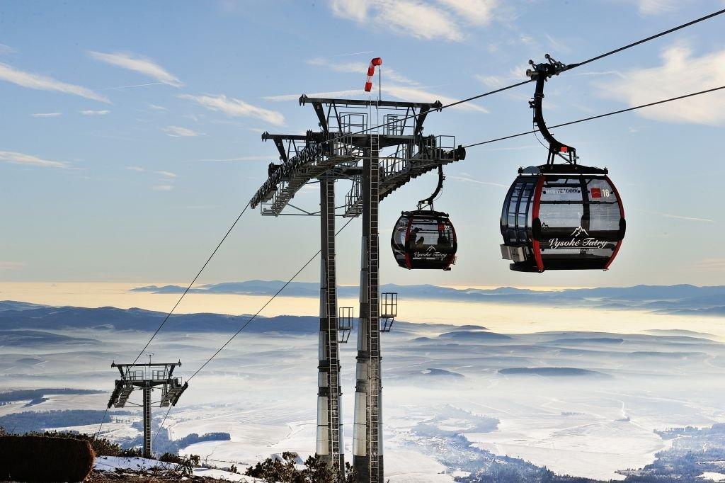 Tatranská Lomnica, the most popular ski resort in High Tatras - ©TMR, a.s.