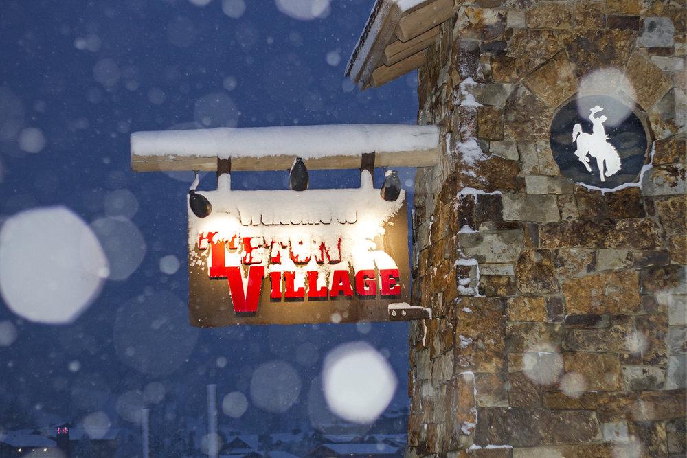 Snow comes down at Jackson Hole. - ©Jackson Hole Mountain Resort