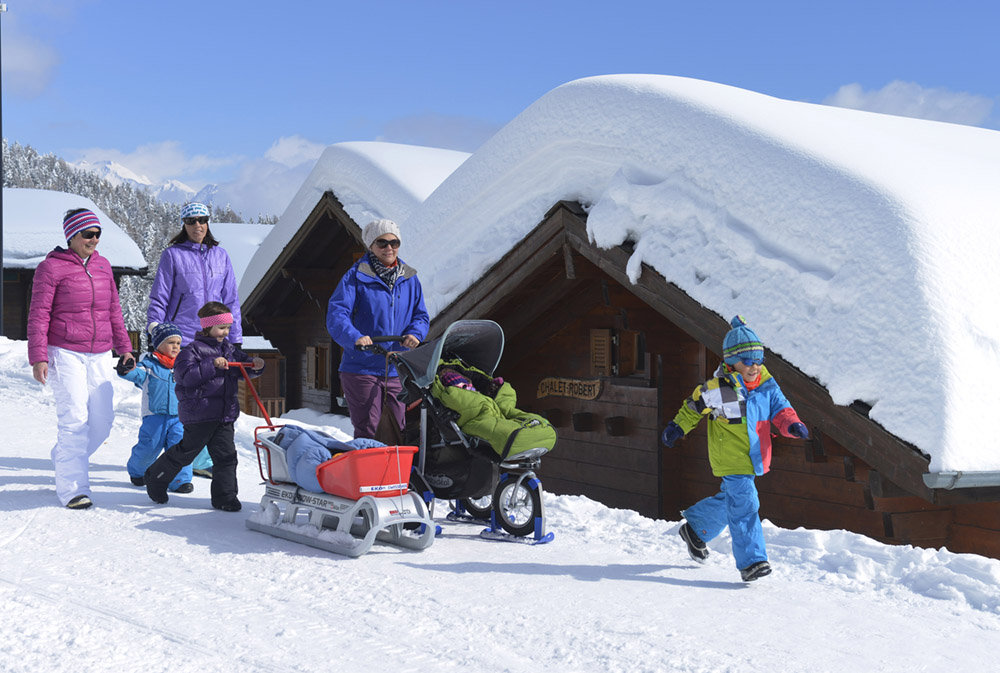 Experiences for the whole family - © Aletsch Arena