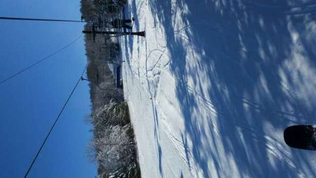 Went there Fri. . awesome 1st day of the season in CT .. the snow was great ...hope they can open more trails