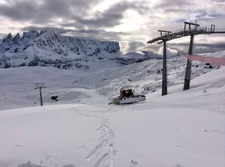 Falcade - Passo San Pellegrino Dec. 10, 2014