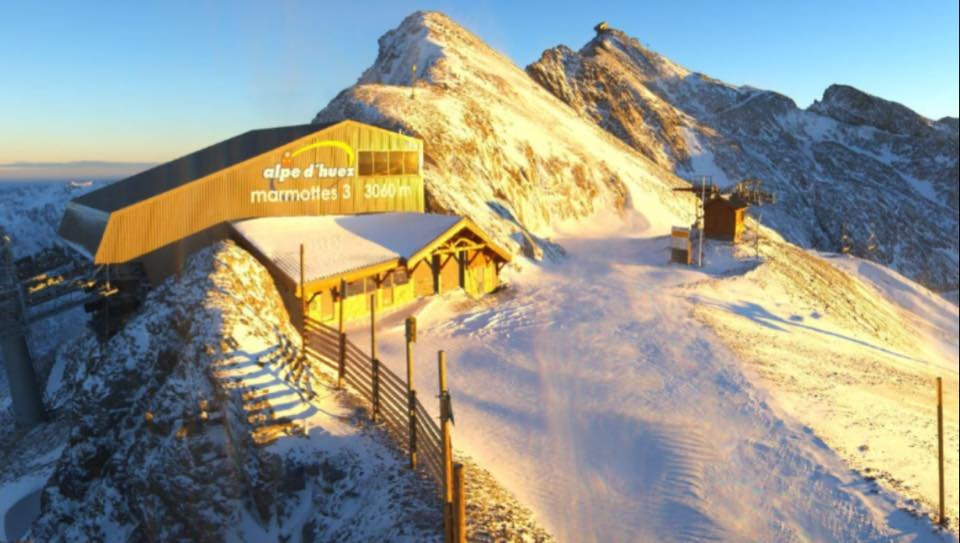 Alpe d'Huez Oct. 23, 2014 - © Alpe d'Huez