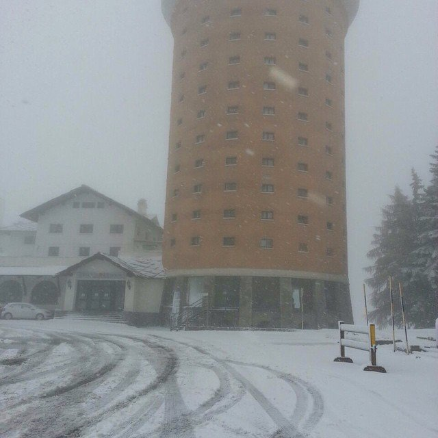 Sestriere, Neve fresca 4 Novembre 2014