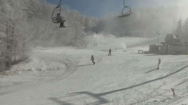Its been pretty cold with some natural snow.  Snow guns have been on and the conditions are pretty damn good.