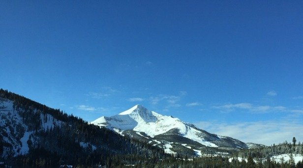 Sunny today and the upper lifts are open!
