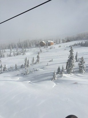 powder all day, snow all day, fresh tracks all day.