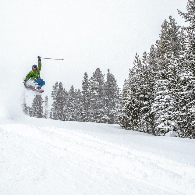 Soft landings are easy to find at Winter Park. - © Winter Park Resort