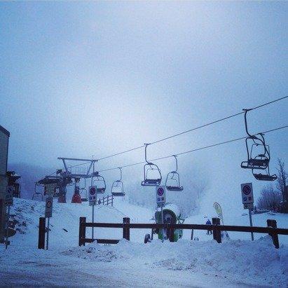 Il 30 dicembre aperta solo la direttissima e il campo scuola! Neve poca ma buona.