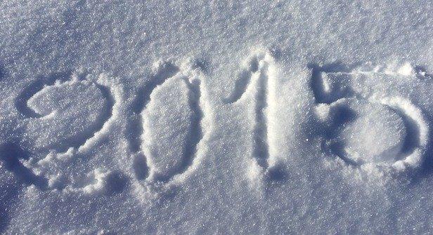 Bonne neige pour ce premier jour de l année 2015