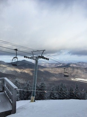 I love to ski. It's so relaxing.