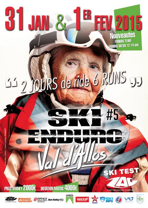 Val d'Allos Ski Enduro #5 (31/01 & 1/02) - ©Office de Tourisme du Val d'Allos