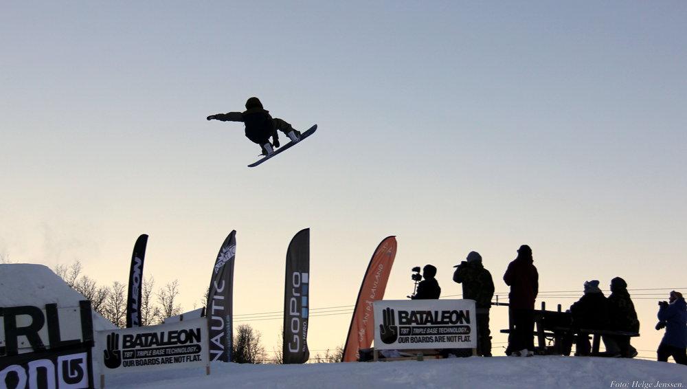 Rauland Vierli Snowpark - © Elisabeth Tellefsen, Salgs og Markedssjef Vierli Terrengpark