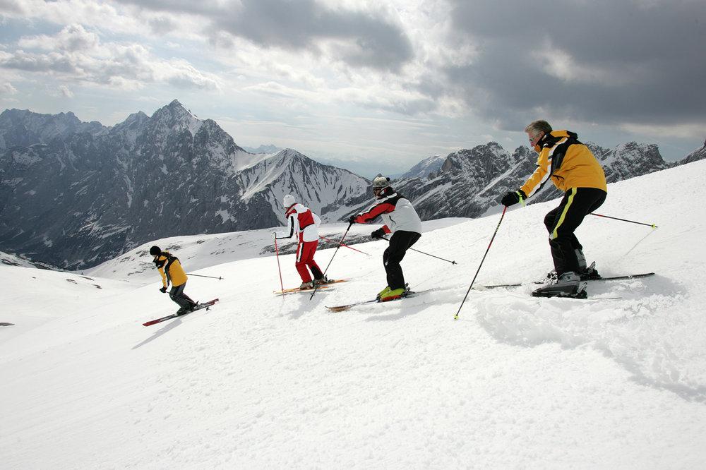 Senioren-Skikurs mit dem DSLV - © DSLV