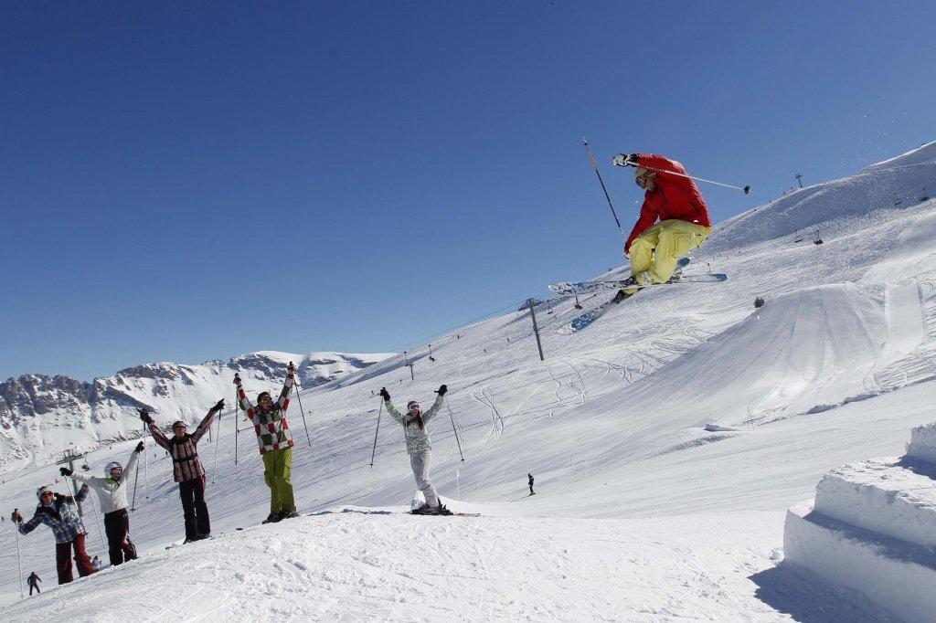 Snowpark Dévoluy pour les amoureux de sensations fortes (© Agence Urope) - © Superdevoluy / La Joue du Loup