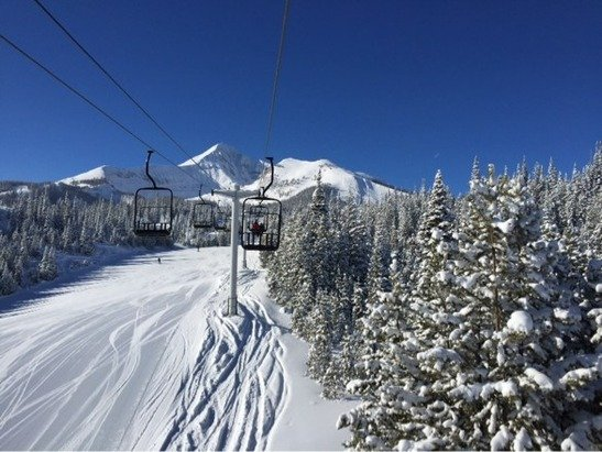 Taken over New Years, great then but not any new snow lately.