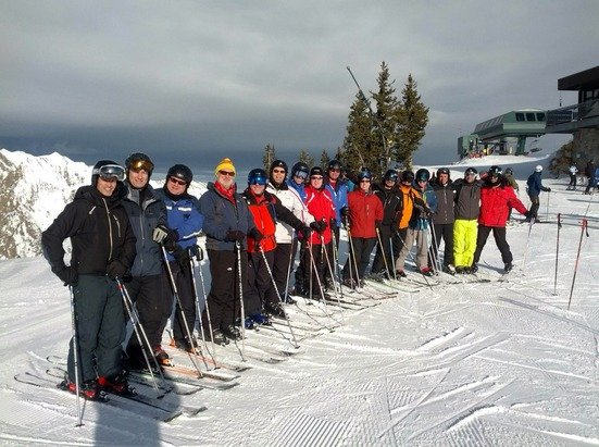 Great day for the Nor'eaters annual trip to Alta