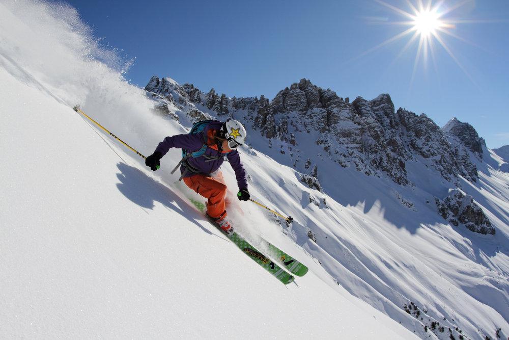 Grenzenlose Freeride-Freuden in den Skigebieten der Innsbruck Freeride City - © Innsbruck Tourismus