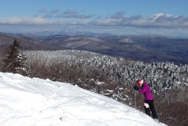 Beautiful day at the sun mountain today