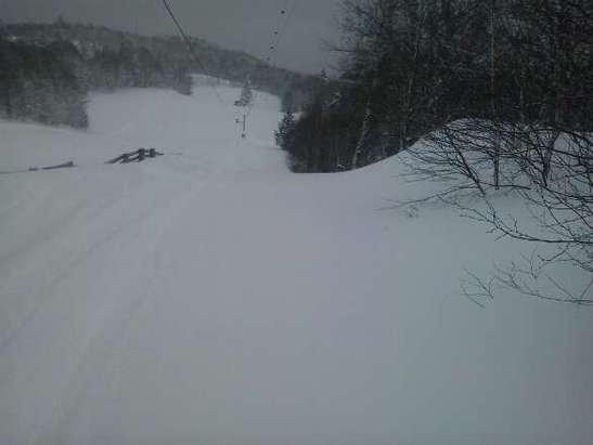 enfin de la tres bonne neige
