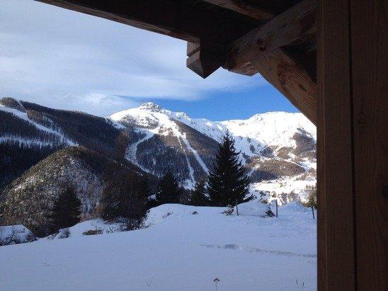 -7 temps dégagé neige fraîche Top départ pour une superbe journée