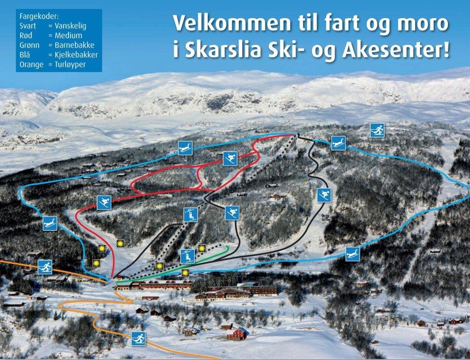 Skarslia Ski og Akesenter - © Skarslia