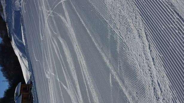 Neve esagerata.....poca gente. Complimenti per come avete battuto le piste!!!