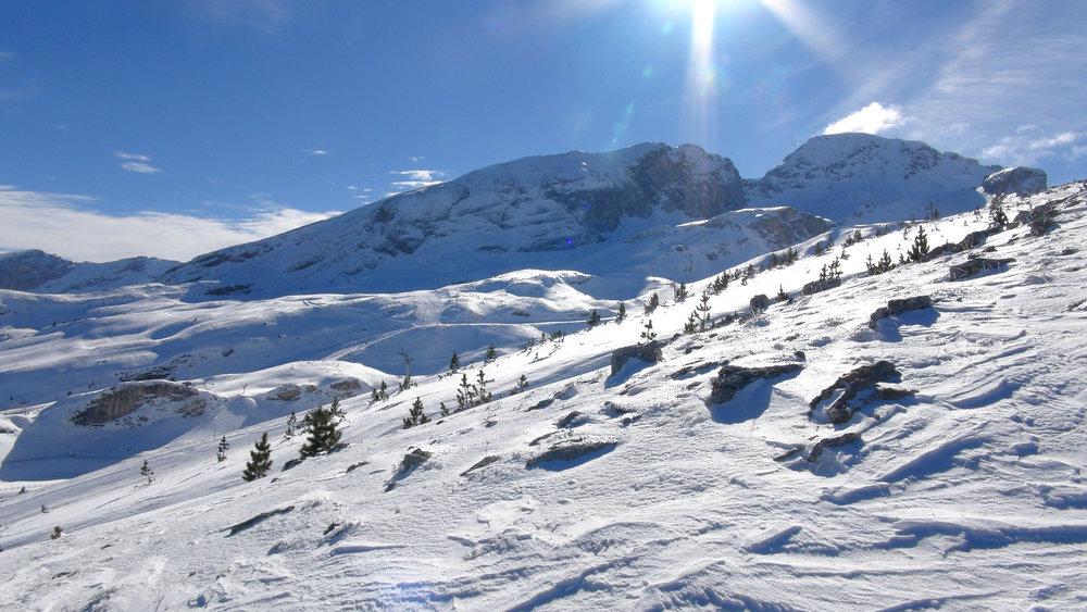 Ambiance grand nord sur les pistes de ski du Dévoluy - © Stéphane GIRAUD-GUIGUES / Skiinfo.fr