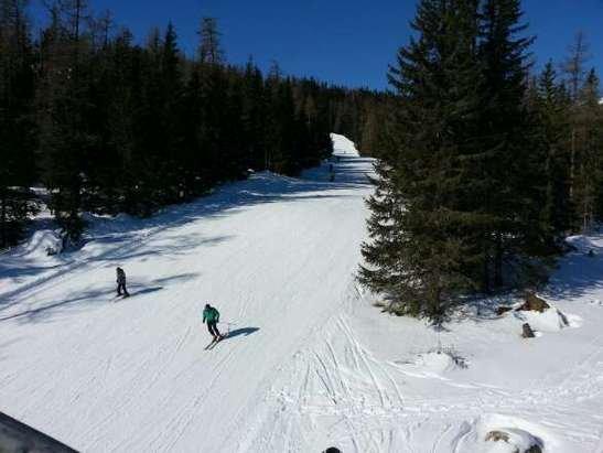 Świetne warunki narciarskie.