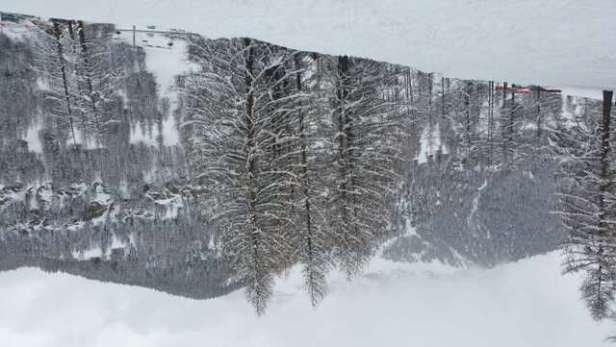 La magie de Molines! 3 jours de chute de neige non stop, une quarantaine de cm de fraîche à vue de nez!!!