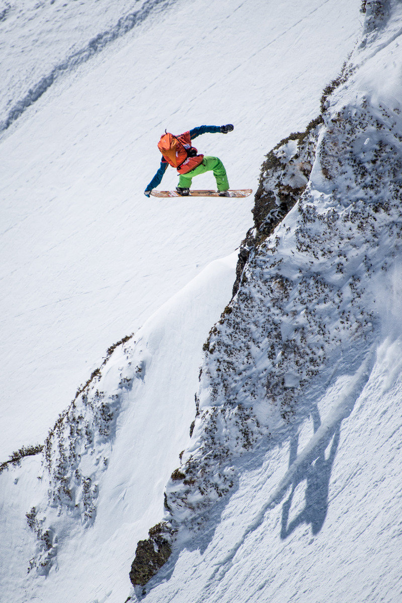 Spektakulär: Jonathan Charlet (FRA) - © Freeride World Tour | David Carlier