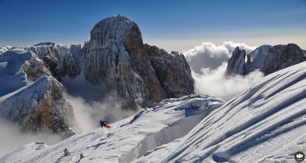 King of Dolomites - © I Krumiri Team - 2nd Place King of Dolomites 2014, WANNABES Category