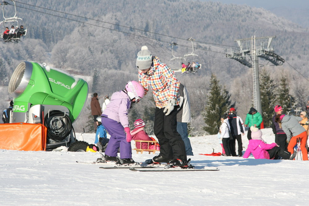 Lyžiarske stredisko Ski Králiky v Kremnických vrchoch - © Ski Králiky