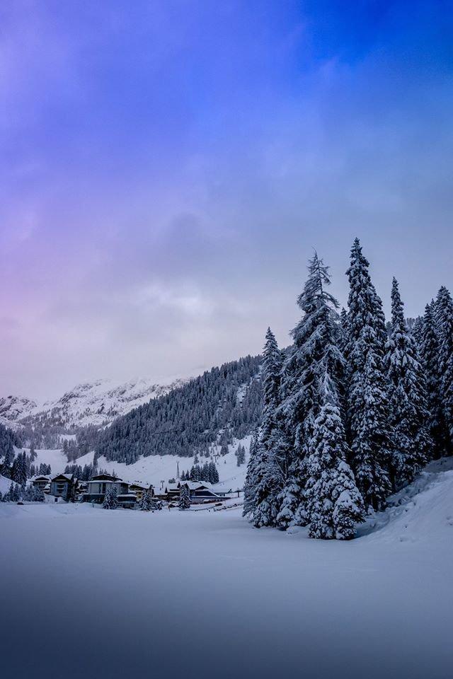 Neuschnee in Zauchensee - © Facebook Zauchensee