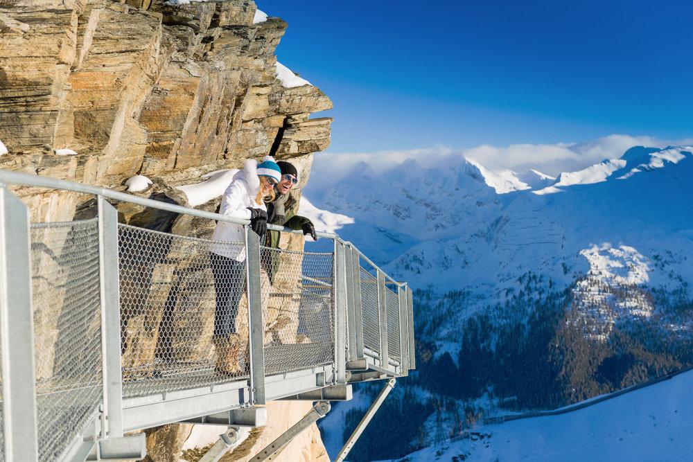 Schwindelfrei muss man hier schon sein - © Bergbahnen Gastein AG