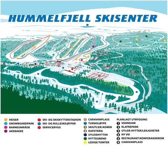 Hummelfjell - © Hummelfjell | Skiinfo Norge @ Skiinfo Lounge