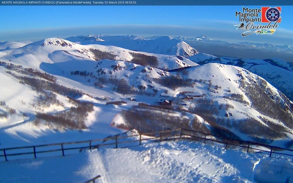 Monte Magnola - Ovindoli, 3 Marzo 2015 - © Monte Magnola Impianti - Ovindoli Facebook